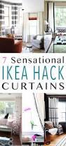 mid century ikea hack 7 sensational curtain ikea hacks the cottage market