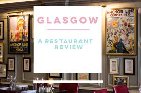lexus hoverboard nz restaurant review the anchor line glasgow u0027s tribute to the