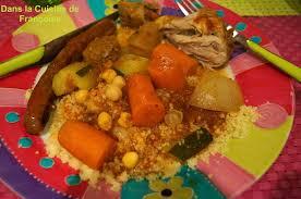 recette cuisine couscous recette land recette de couscous poulet merguez et boulettes sur