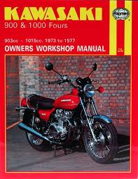 haynes manual 0222 kawasaki z900 u0026 z1000 fours 73 77 workshop