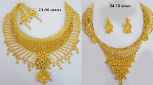 all necklace images Latest 25 grams designer necklace with weight for all necklace jpg