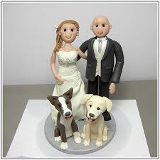 wedding cake topper with dog wedding cake toppers with dog wedding cake wedding ideas