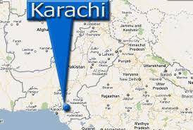 map of karachi karachi map news pakistan