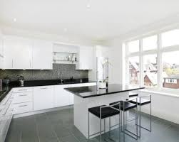 black and white tile kitchen ideas white floor tile kitchen gen4congress com
