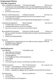 Volunteer Work On Resume Example by Step 7 Present Your Work History Writing A Great Cv Career