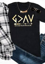 god is greater than the highs and lows t shirt chicgrace