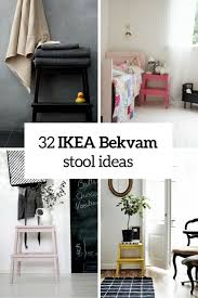 ikea bekvam how to rock ikea bekvam stool in your interiors 32 ideas digsdigs