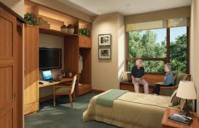 assisted living patient room nice warm comfortable feeling