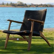and teak outdoor relaxing chair 25