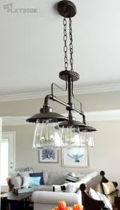 Kitchen Dining Light Fixtures Let There Be Light Bronze Kitchen Allen Roth And Kitchens