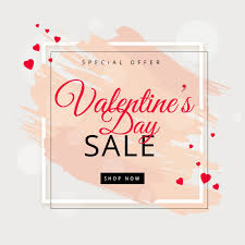 valentines sale s day sale background free vector vectorkh