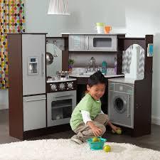 kidkraft uptown natural play kitchen 53298 hayneedle