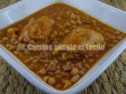 cuisiner les haricots blancs secs poulet aux haricots blancs cuisine simple et facile