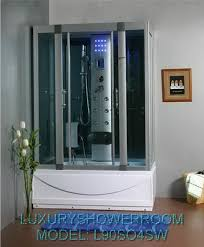 steam shower jacuzzi whirlpool tub combo showers decoration l90s04wshd heavy duty steam shower with deep whirlpool tub and bluetooth audio 54x31 5x85