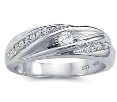 Mens White Gold Wedding Rings by Womens White Gold Wedding Bands Theweddingpress Com