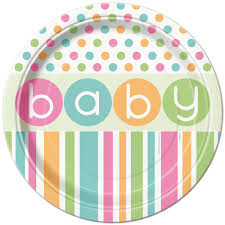 baby shower tableware baby shower decorations