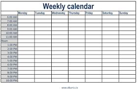 week planner template excel weekly calendar with times printable 2017 calendars weekly calendar with times excel calendar template with time slots 2 bszxol