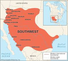 Yuma Az Map Newsela Native American Cultures The Southwest