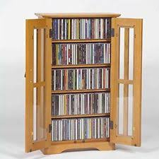 Cd Cabinet Dvd Storage Cabinet Cd U0026 Video Racks Ebay
