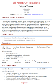 Resume For Library Assistant Job by Librarian Cv Template Tips And Download U2013 Cv Plaza