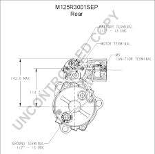 m125r3001sep starter motor product details prestolite leece
