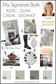 my signature style decor styles casual elegance and interior