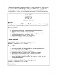 Skills Abilities For Resume Examples by Lvn Skills Resume Best Free Resume Collection
