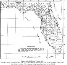 Map Of Sinkholes In Florida by Geology