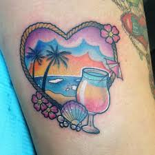 Tropical Themed Tattoos - this but jimmy buffett themed tattoos that i like pinterest