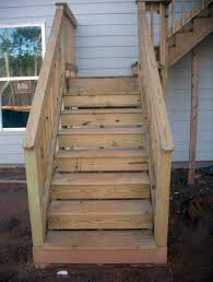Stairs With Open Risers by Common Deck Stair Defects Professional Deck Builder Staircases