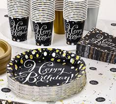 milestone birthday party supplies birthday decorations