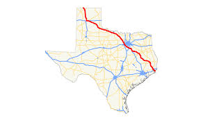 Dallas Fort Worth Metroplex Map by U S Route 287 In Texas Wikipedia