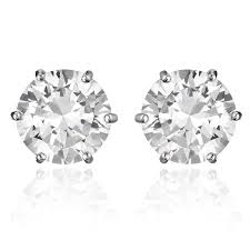 Halloween Clip On Earrings by Amazon Com Cocorina Round Cut Cubic Zirconia Magnetic Earrings
