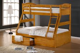 Ashley Maple Duo Double Single Bunk Beds With Drawers - Double bunk beds