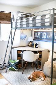 Designs For Building A Loft Bed by Best 25 Loft Bed Desk Ideas On Pinterest Bunk Bed With Desk