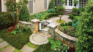 cottage style backyards classic courtyards southern living