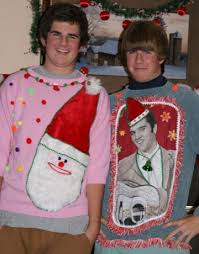The Ugly Christmas Sweater Party - 10 stylish alternatives to the ugly christmas sweater tacky