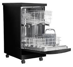 Faucet For Portable Dishwasher Frigidaire 18 U0027 U0027 Portable Dishwasher Black Ffpd1821mb