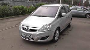 used vauxhall zafira estate diesel in silver from evans halshaw