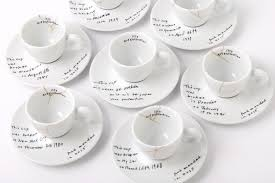 cool espresso cups yoko ono illy art collection at moma cool hunting