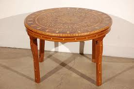 Moroccan Side Table Round Moroccan Coffee Table Rascalartsnyc