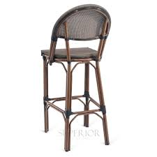 commercial outdoor bar stools synthetic bamboo aluminum mesh commercial outdoor bar stool