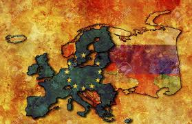 Old Europe Map by Some Very Old Grunge Map Of European Union With Flag On Map Of