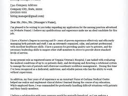 sample resume for company nurse nursing cover letter samples