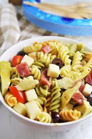 italian antipasto pasta salad the tasty bite