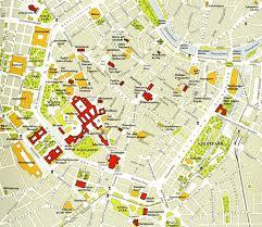 map of vienna vienna tourist map vienna austria mappery