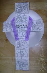 holy week cross craft holy week craft and lent