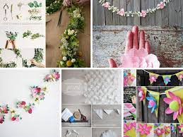 6 pretty diy flower decorations ideas