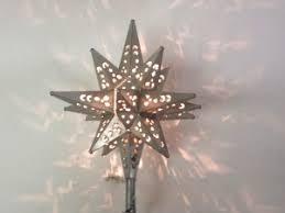 moravian tree topper tin moravian light tree topper in pewter custom metal