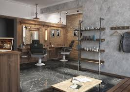 winchester barber shop by grafit architects bureau barbershop
